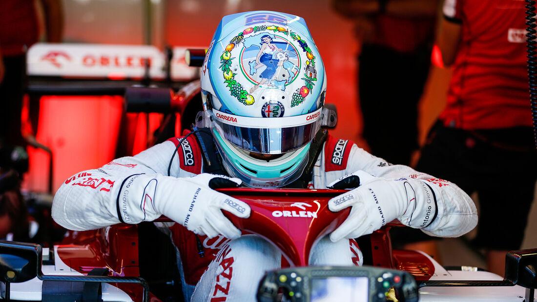 Antonio Giovinazzi - Alfa Romeo - Formel 1 - GP Italien - Monza - 4. September 2020