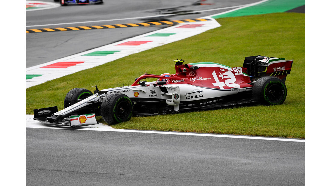 Antonio Giovinazzi - Alfa Romeo - Formel 1 - GP Italien - Monza - 6. September 2019