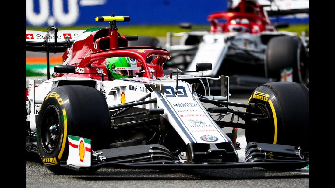 Antonio Giovinazzi - Alfa Romeo  - Formel 1 - GP Italien - Monza - 7. September 2019