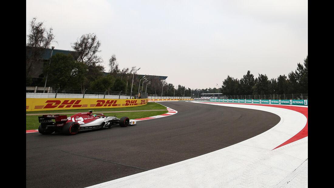 Antonio Giovinazzi - Alfa Romeo - Formel 1 - GP Mexiko - 25. Oktober 2019