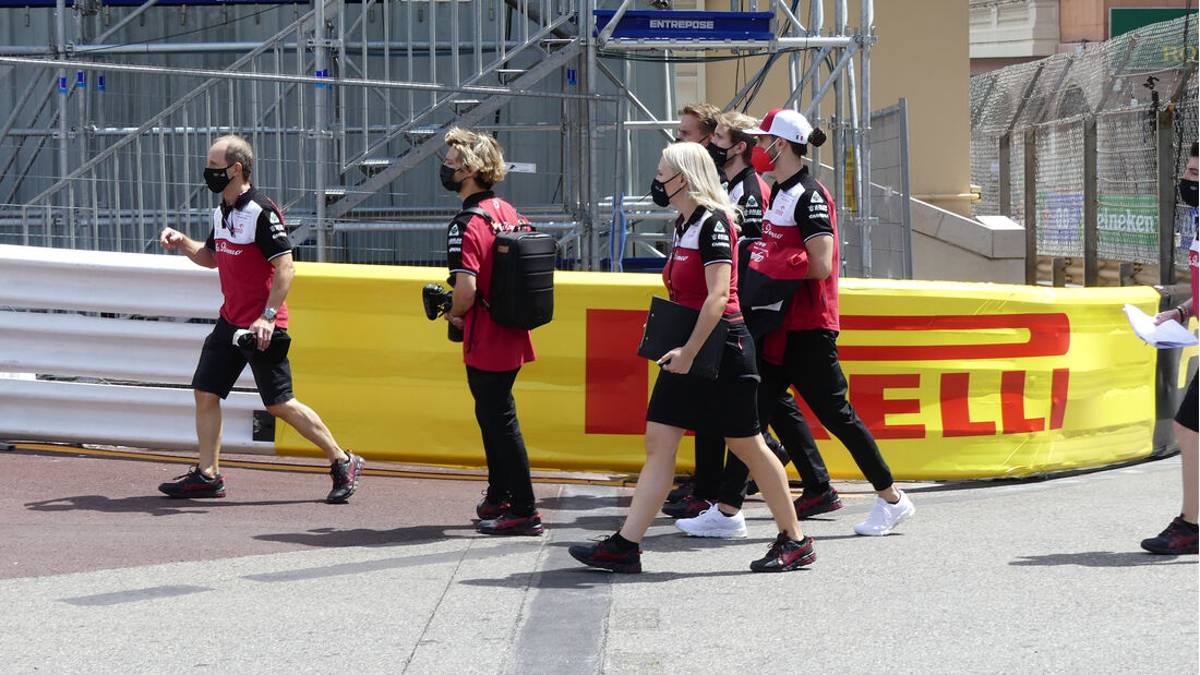 Antonio Giovinazzi - Alfa Romeo - Formel 1 - GP Monaco - 19. Mai 2021