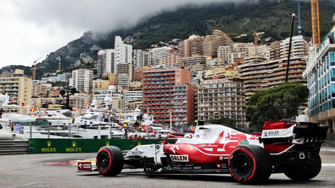 Antonio Giovinazzi - Alfa Romeo - Formel 1 - GP Monaco - 22. Mai 2021
