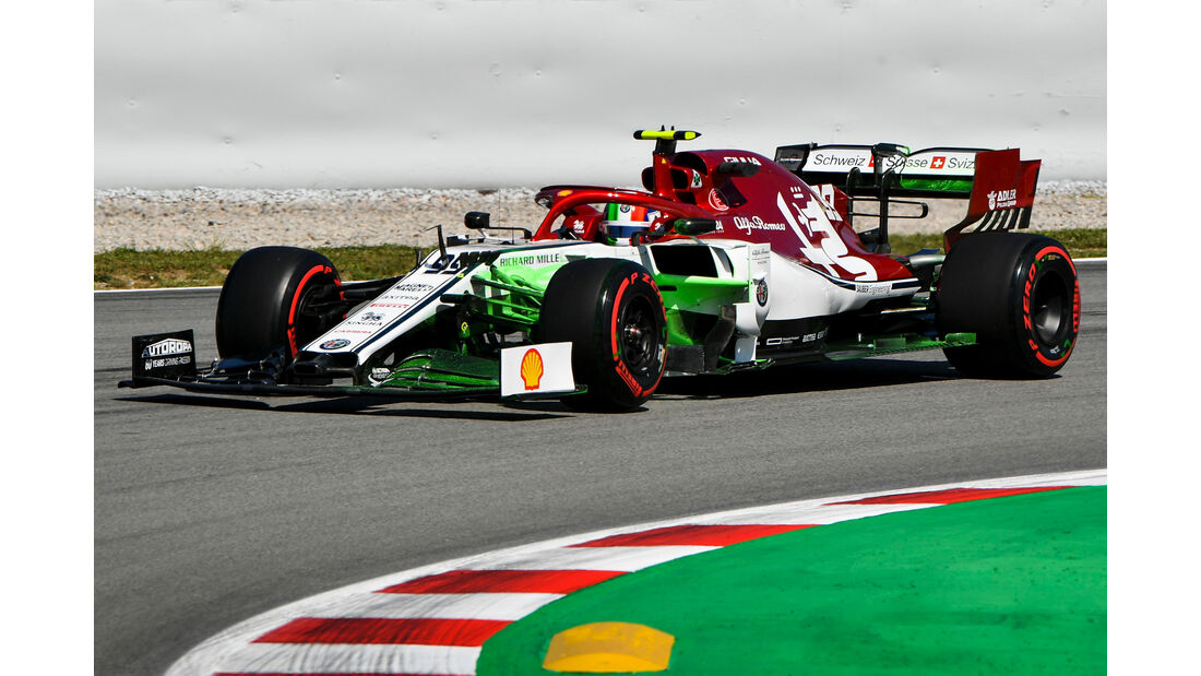 Antonio Giovinazzi - Alfa Romeo - Formel 1 - GP Spanien - Barcelona - 10. Mai 2019