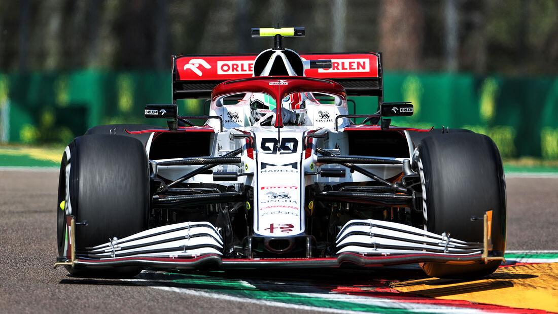 Antonio Giovinazzi - Alfa Romeo - Formel 1 - Imola - GP Emilia-Romagna - 16. April 2021