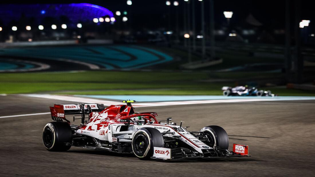 Antonio Giovinazzi - Alfa Romeo - GP Abu Dhabi 2020