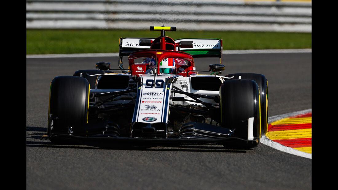 Antonio Giovinazzi - Alfa Romeo - GP Belgien - Spa-Francorchamps - Formel 1 - Freitag - 30.08.2019