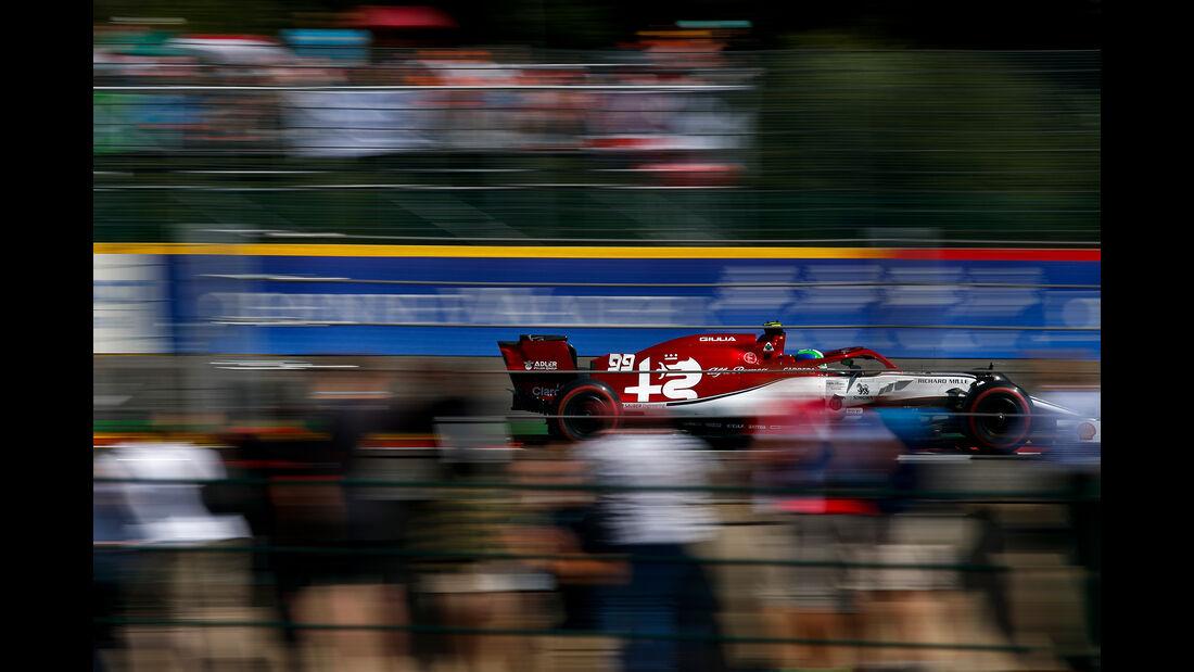 Antonio Giovinazzi - Alfa Romeo - GP Belgien - Spa-Francorchamps - Formel 1 - Samstag - 31.8.2019