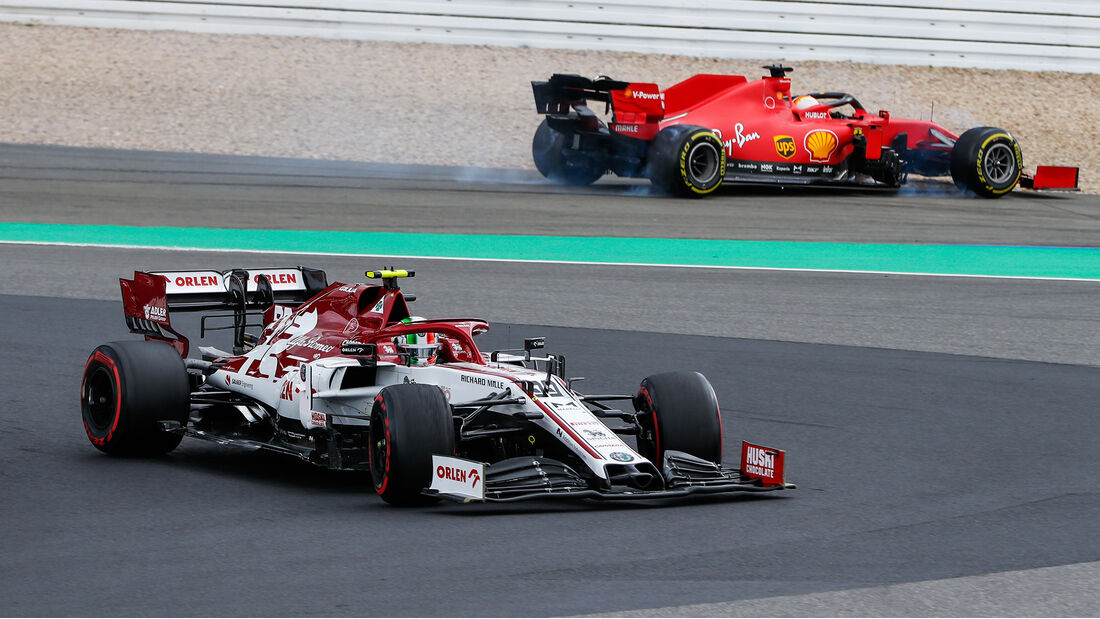 Antonio Giovinazzi - Alfa Romeo - GP Eifel 2020 - Nürburgring