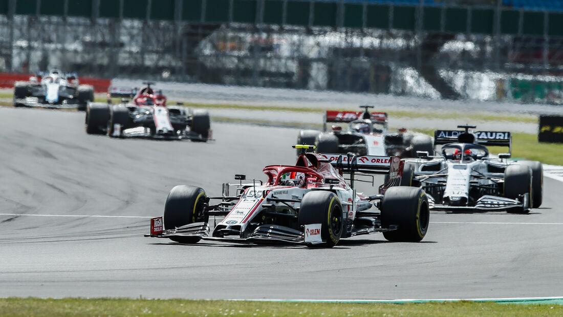 Antonio Giovinazzi - Alfa Romeo - GP England 2020 - Silverstone
