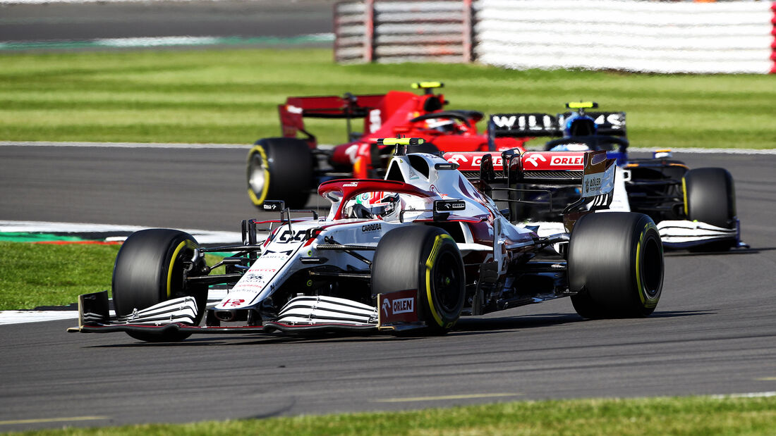 Antonio Giovinazzi - Alfa Romeo - GP England 2021 - Silverstone