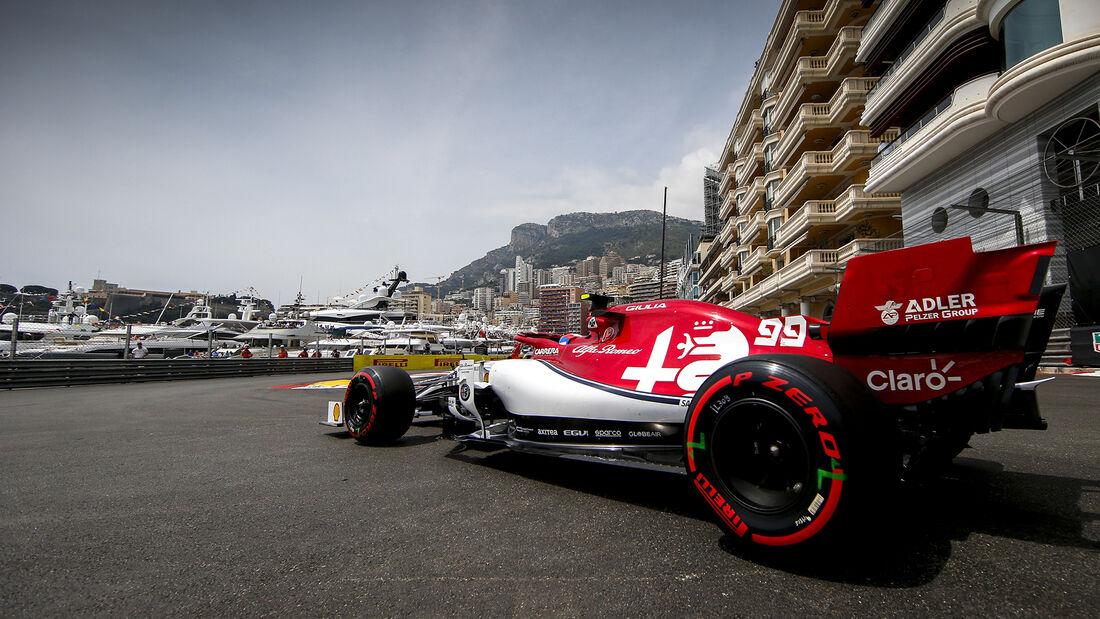 Antonio Giovinazzi - Alfa Romeo - GP Monaco 2019