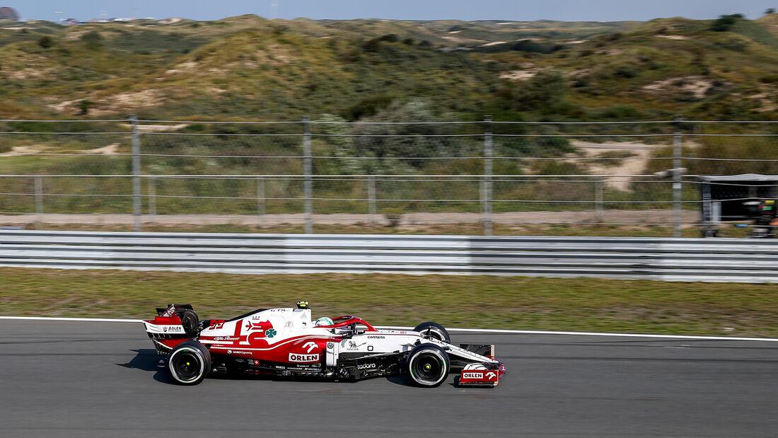 Antonio Giovinazzi - Alfa Romeo - GP Niederlande - Zandvoort - Formel 1 - 3. September 2021