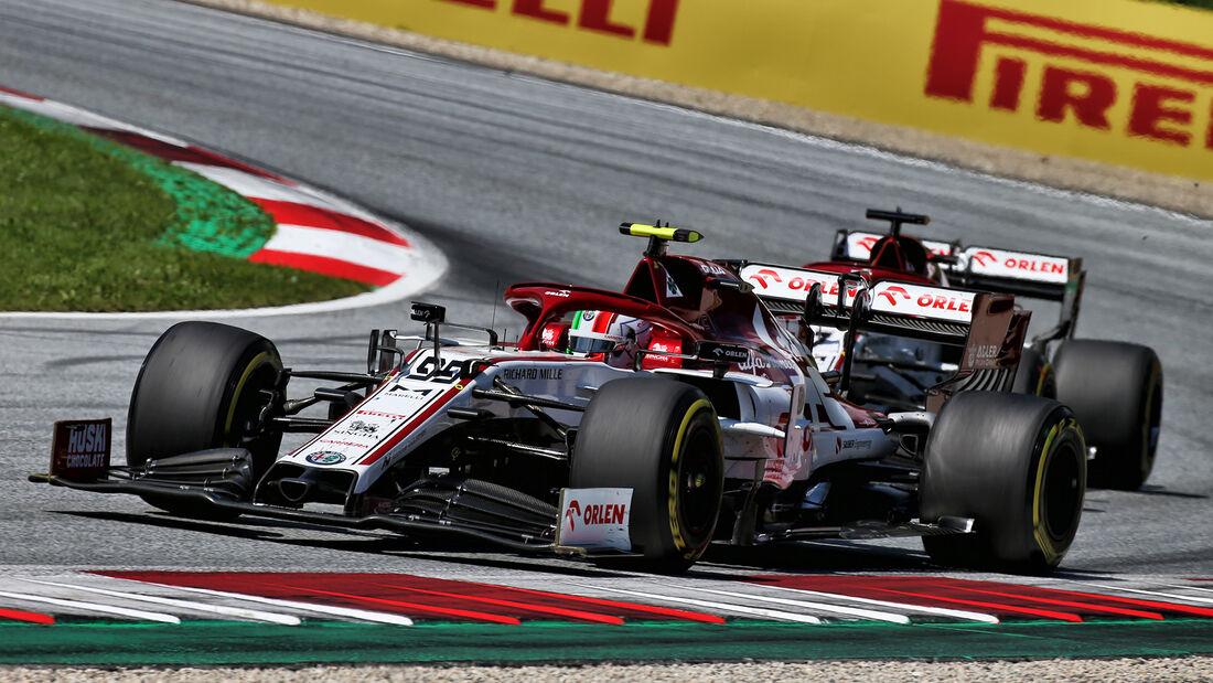 Antonio Giovinazzi - Alfa Romeo - GP Österreich 2020
