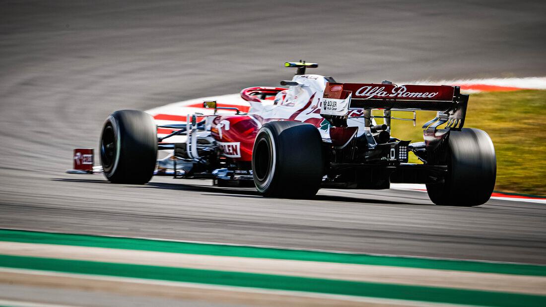 Antonio Giovinazzi - Alfa Romeo - GP Portugal 2021 - Portimao
