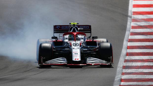 Antonio Giovinazzi - Alfa Romeo - GP Portugal - Portimao - 1 Mei 2021