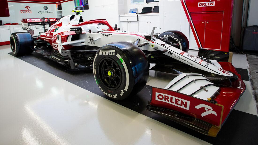 Antonio Giovinazzi - Alfa Romeo - GP Russland 2021