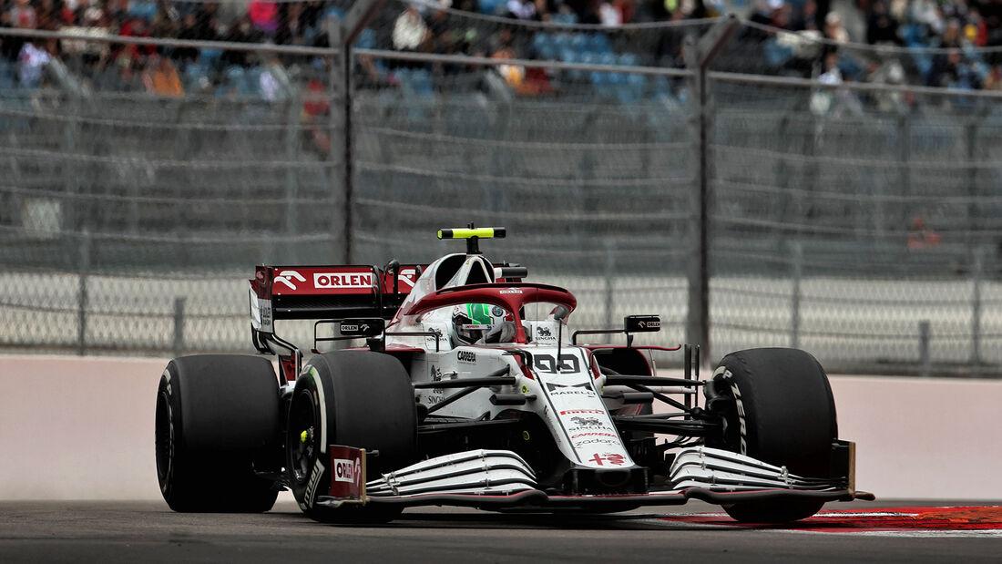 Antonio Giovinazzi - Alfa Romeo - GP Russland 2021 - Sotschi
