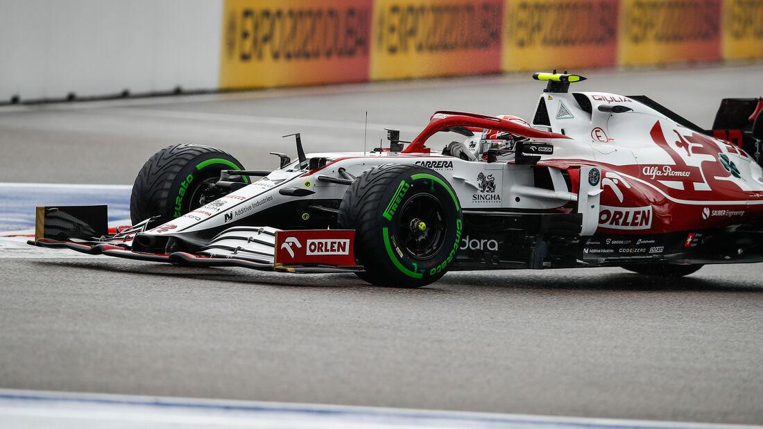 Antonio Giovinazzi - Alfa Romeo - GP Russland 2021 - Sotschi - Samstag