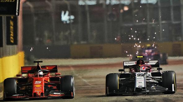 Antonio Giovinazzi - Alfa Romeo - GP Singapur 2019