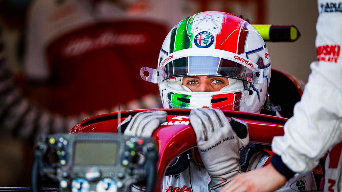 Antonio Giovinazzi - Alfa Romeo - GP Spanien 2020 - Barcelona