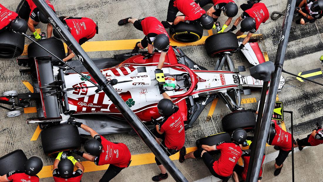 Antonio Giovinazzi - Alfa Romeo - GP Steiermark 2021 - Spielberg