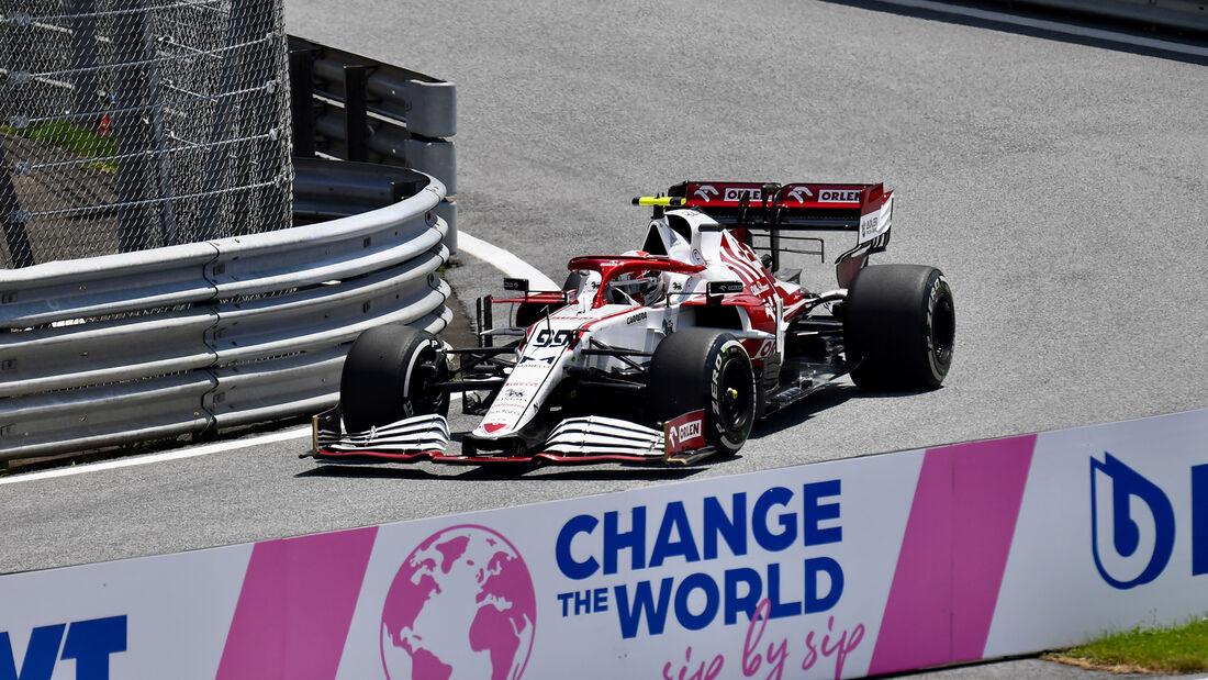 Antonio Giovinazzi - Alfa Romeo - GP Steiermark - Spielberg - Formel 1 - 25. Juni 2021