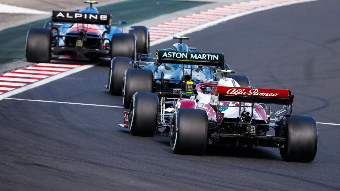 Antonio Giovinazzi - Alfa Romeo - GP Ungarn 2021 - Budapest - Rennen