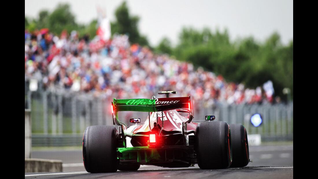 Antonio Giovinazzi - Alfa Romeo - GP Ungarn - Budapest - Formel 1 - Freitag - 2.8.2019