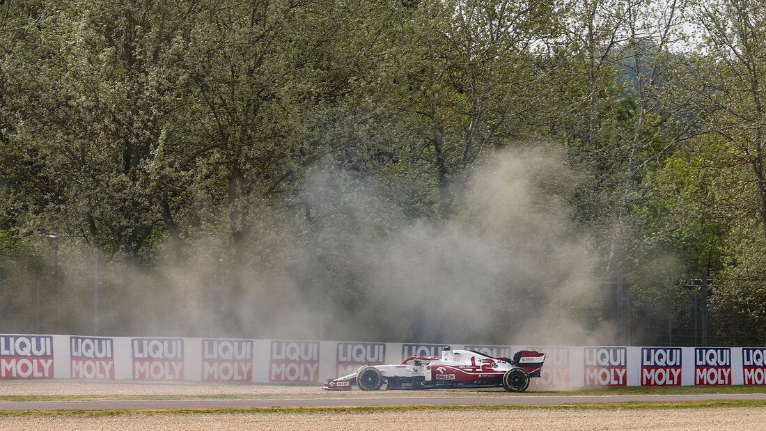 Antonio Giovinazzi - Alfa Romeo - Imola - Formel 1 - GP Emilia Romagna - 17. April 2021
