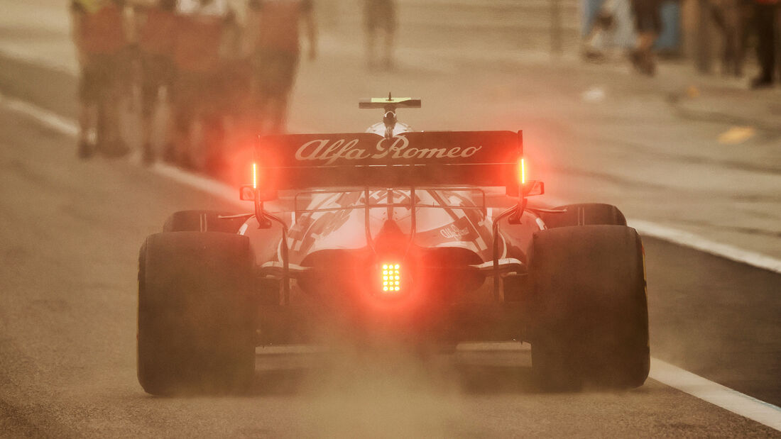 Antonio Giovinazzi - Alfa Romeo - Test - Formel 1 - Bahrain - 12. März 2021