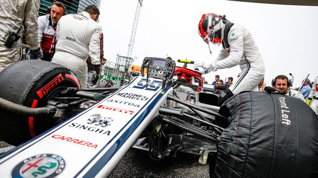 Antonio Giovinazzi - Alfa-Sauber - GP China 2019 - Shanghai