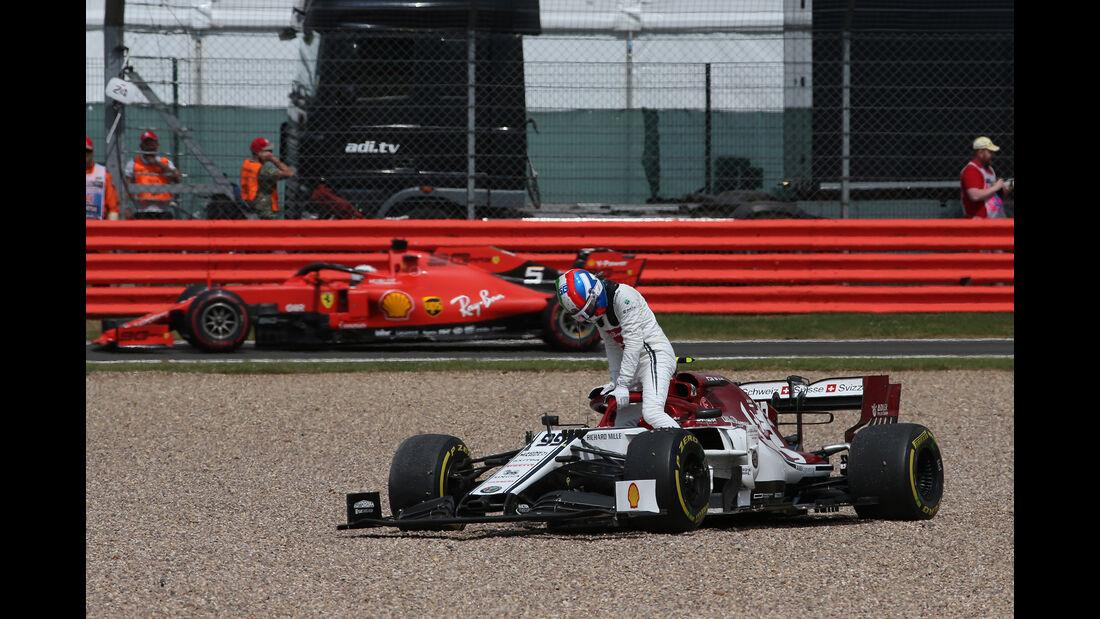 Antonio Giovinazzi - Alfa-Sauber - GP England 2019 - Silverstone - Rennen