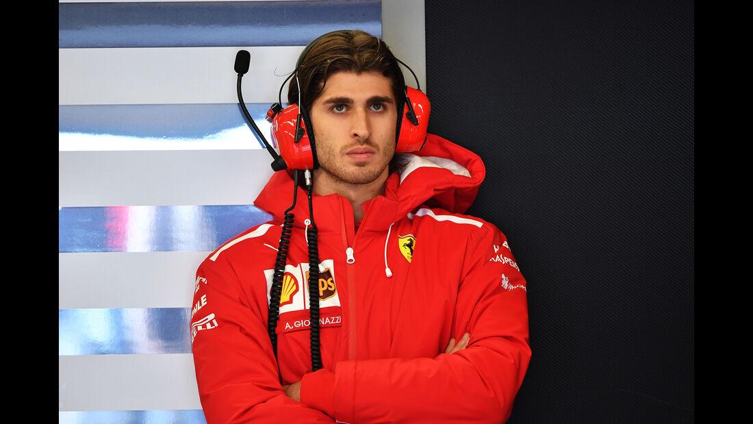Antonio Giovinazzi - Ferrari - Formel 1 - GP USA - 19. Oktober 2018