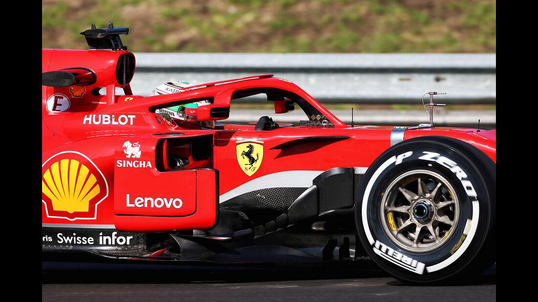 Antonio Giovinazzi - Ferrari - GP Ungarn - Budapest - F1-Test - 31. Juli 2018