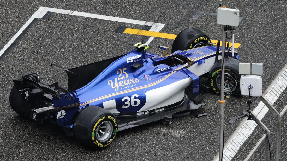Antonio Giovinazzi - Formel 1 - GP China 2017