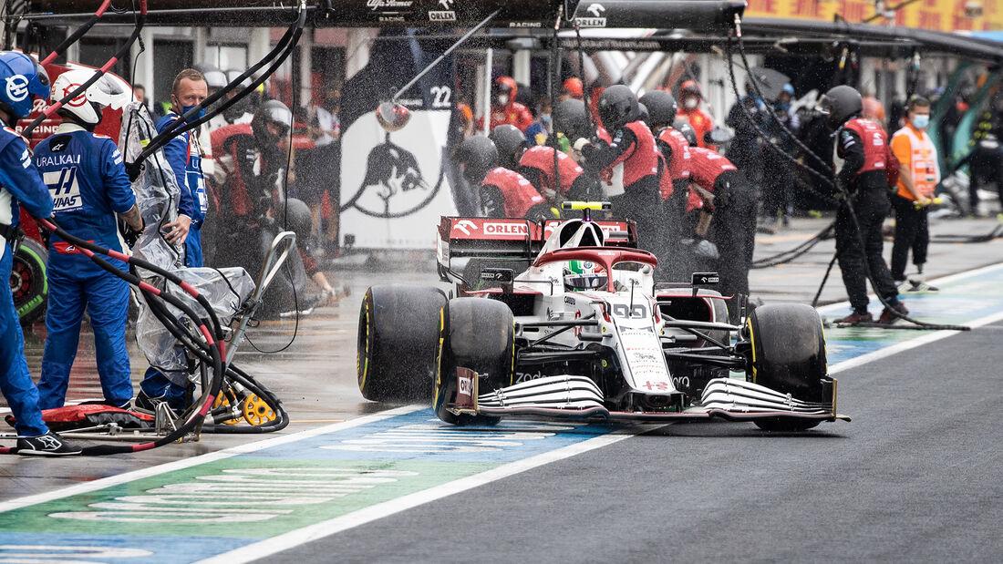 Antonio Giovinazzi - Formel 1 - GP Ungarn 2021
