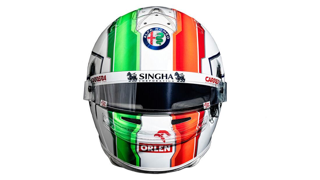 Antonio Giovinazzi - Formel 1 - Helm - 2021