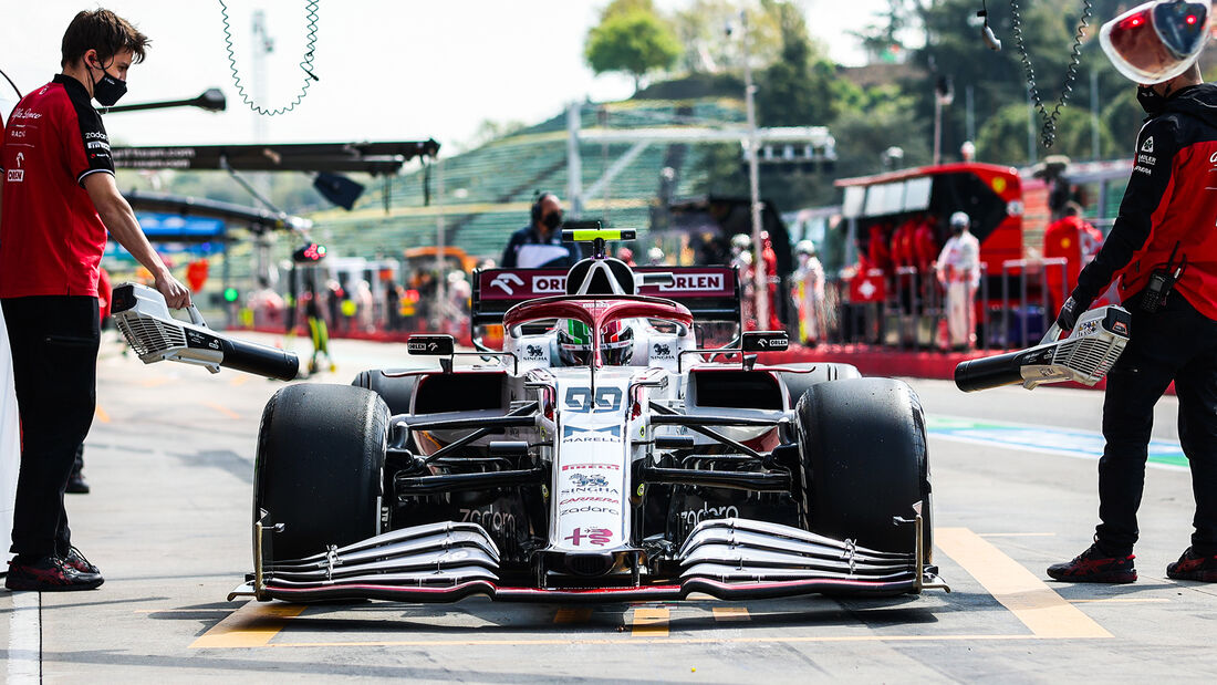 Antonio Giovinazzi - Formel 1  - Imola - GP Emilia Romagna 2021