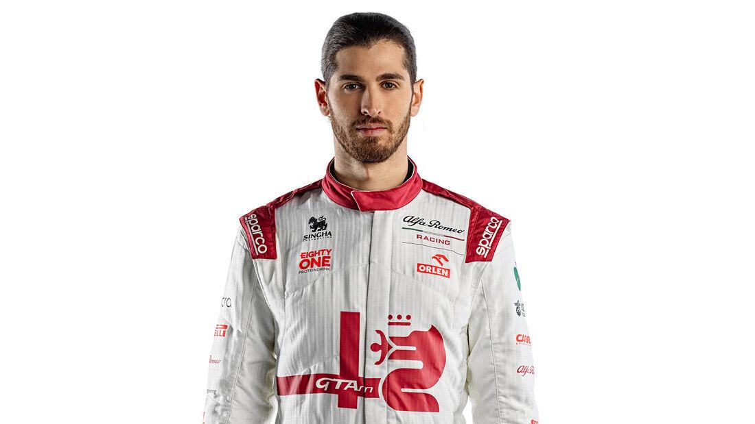 Antonio Giovinazzi - Formel 1 - Porträt - 2021