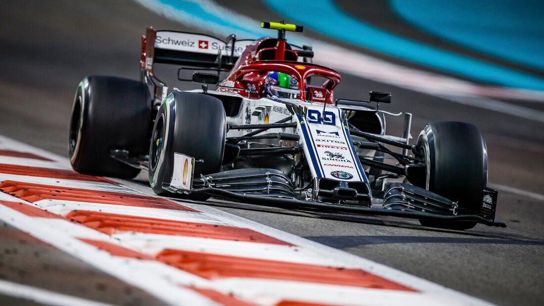 Antonio Giovinazzi - GP Abu Dhabi 2019