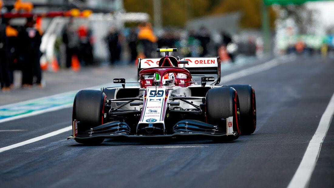 Antonio Giovinazzi - GP Eifel - Nürburgring - Formel 1 - 2020
