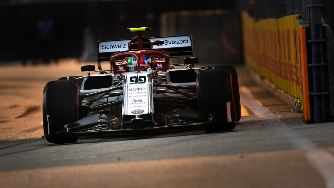 Antonio Giovinazzi - GP Singapur 2019