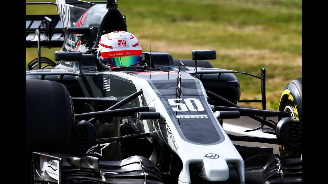 Antonio Giovinazzi - Haas F1 - Formel 1 - GP England - 14. Juli 2017