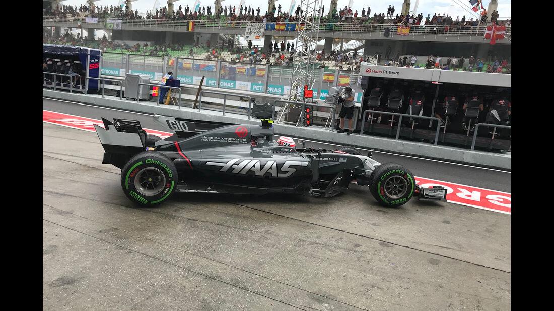 Antonio Giovinazzi - HaasF1 - GP Malaysia - Sepang - 29. Oktober 2017