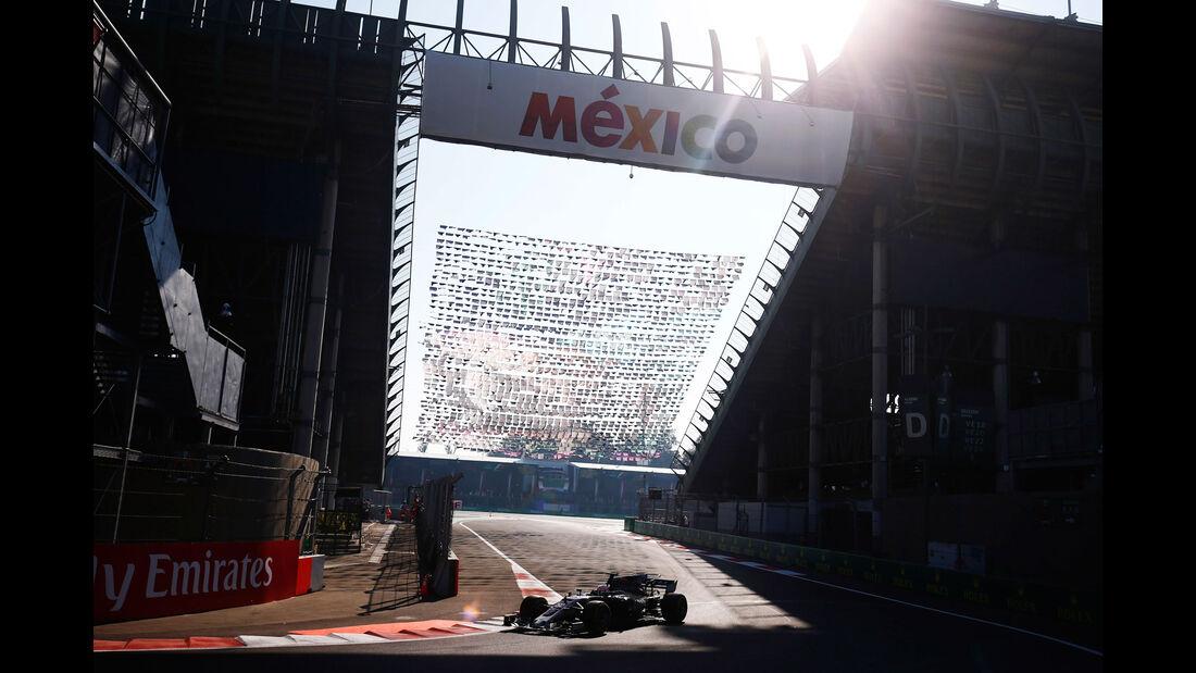 Antonio Giovinazzi - HaasF1 - GP Mexiko - Formel 1 - Freitag - 27.10.2017
