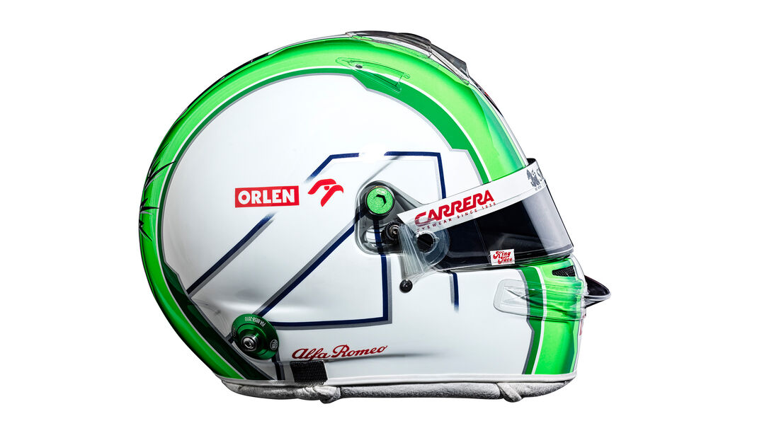 Antonio Giovinazzi - Helm - Alfa Romeo - F1 - 2021