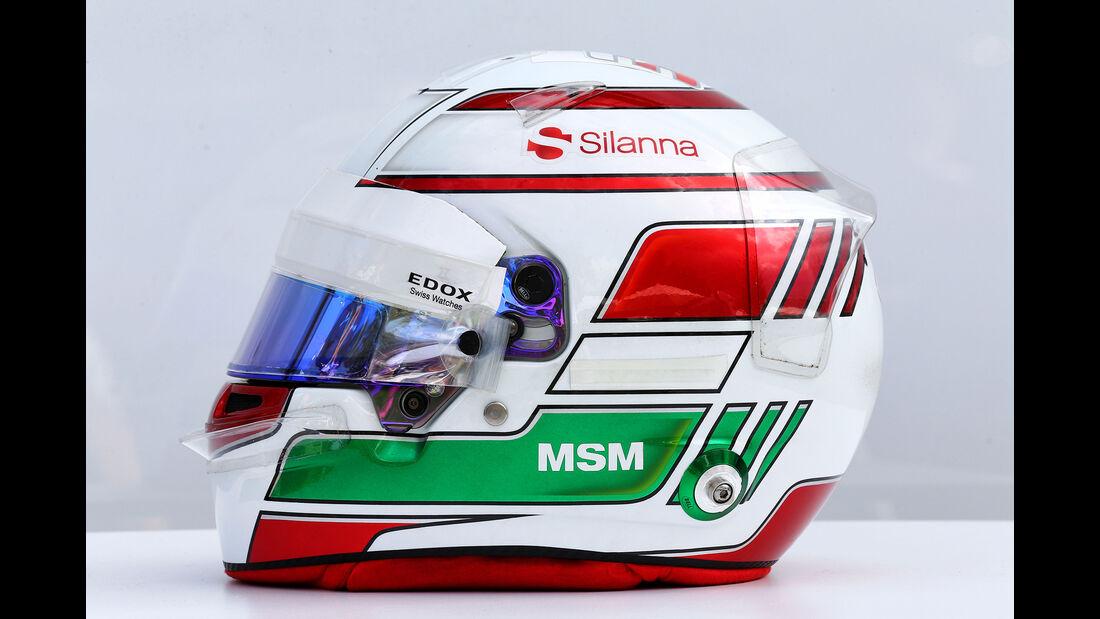Antonio Giovinazzi - Helm - Formel 1 - 2017