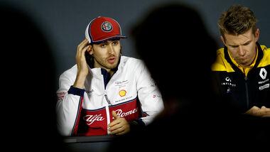 Antonio Giovinazzi - Nico Hülkenberg - F1