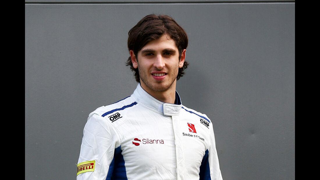 Antonio Giovinazzi - Porträt - Formel 1 - 2017