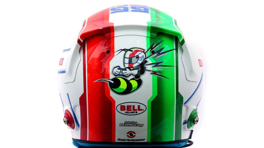 Antonio Giovinazzi - Porträt & Helm - Formel 1 - 2020